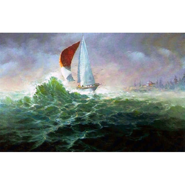 0014 The Sailboat