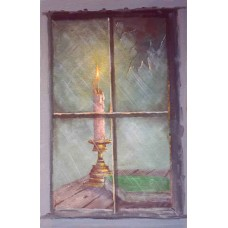 0311 Candle in Window