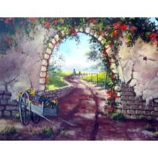 1503 Flower Cart