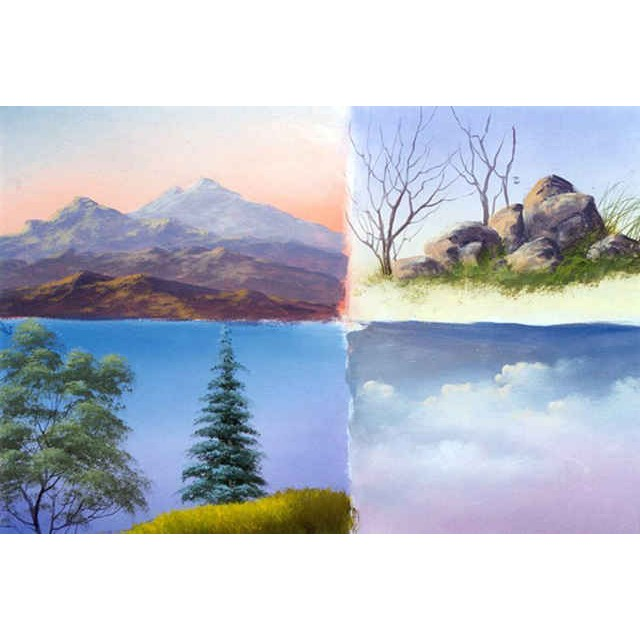 9943 Study Painting