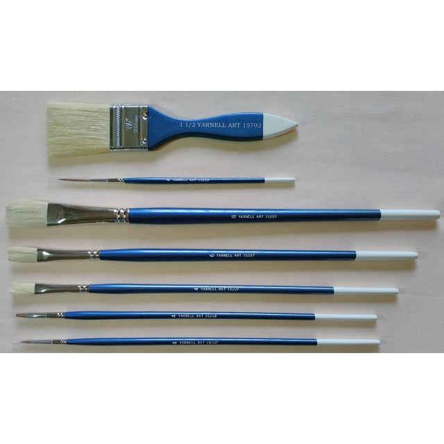 Yarnell Art Oil Brush Set